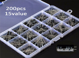 Foto van: Elektronica componenten newest high quality 15values 200pcs electrolytic capacitor organization stor