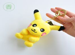 Foto van: Speelgoed 1pcs boutique 10cm a new type of pikachu second generation plush toy fastener keychains to