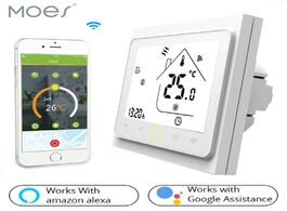 Foto van: Beveiliging en bescherming smart wifi thermostat temperature controller water floor heating works wi