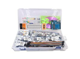 Foto van: Elektronica componenten free shipping diy r3 project complete starter kit with lesson cd for arduino