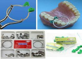 Foto van: Schoonheid gezondheid new 100pcs set dental sectional contoured matrices matrix ring delta 40pcs add
