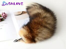 Foto van: Schoonheid gezondheid separable anal plug real fox tail cosplay butt sex adult products toys for wom