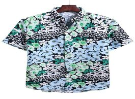 Foto van: Heren floral allover print vacation shirt